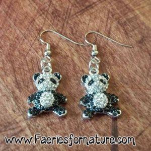 Jewelry - Panda Jewelry/Panda Bear Earrings